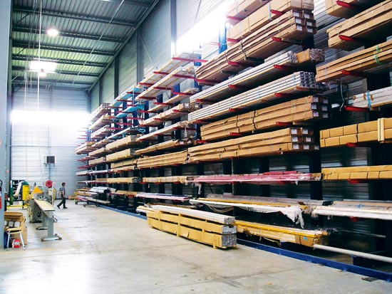 Cantilever - Stockage de Charges