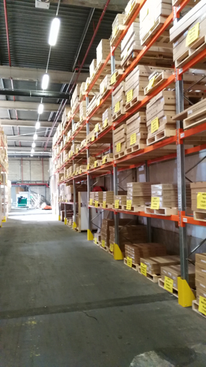 Palettes – Transport usine et distribution