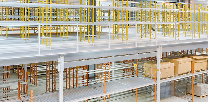 Conception d'un Espace de Stockage Industriel et Plateformes