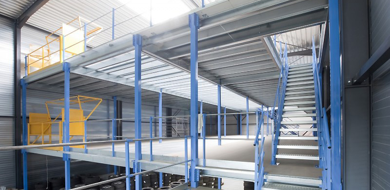 Mezzanine Plateforme Industrielle de Stockage