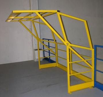 La protection d'un entrepôt – matériel professionnel