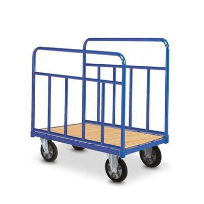 Chariots à ridelles – chariots de manutention industriels
