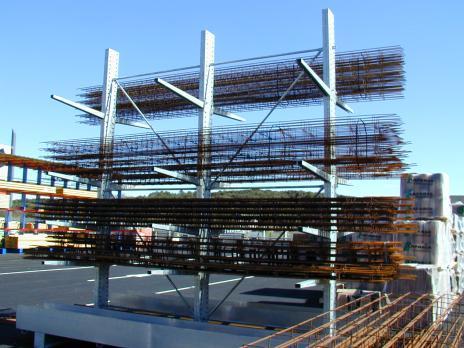 Racks pour charges lourdes – Rayonnage industriel lourd