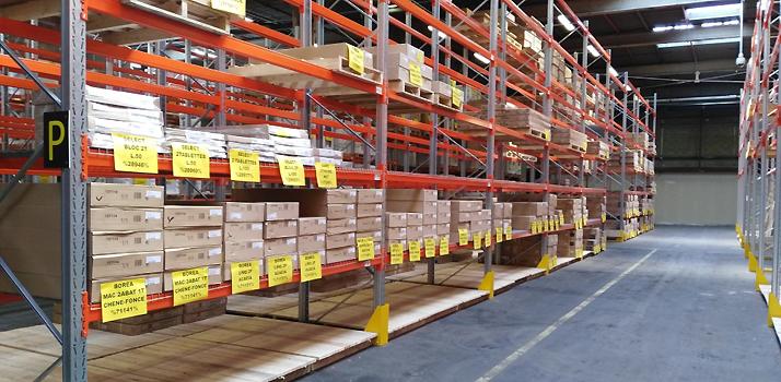 Gestion des stocks et aménagement d'un entrepôt