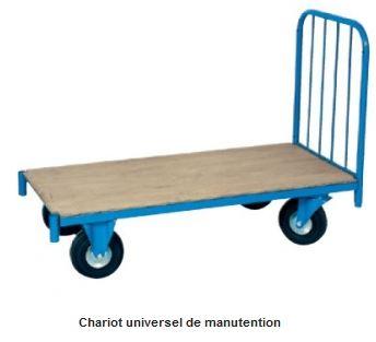 Chariots de manutention pour tous les besoins !