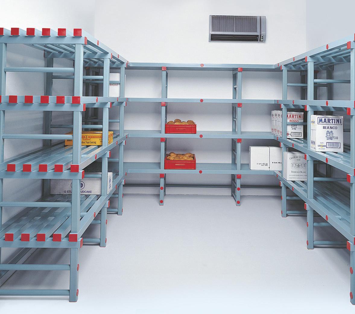 Etagères nettoyables pour le secteur alimentaire, médical