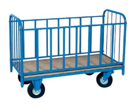 Des chariots de manutention ergonomiques et  fonctionnels