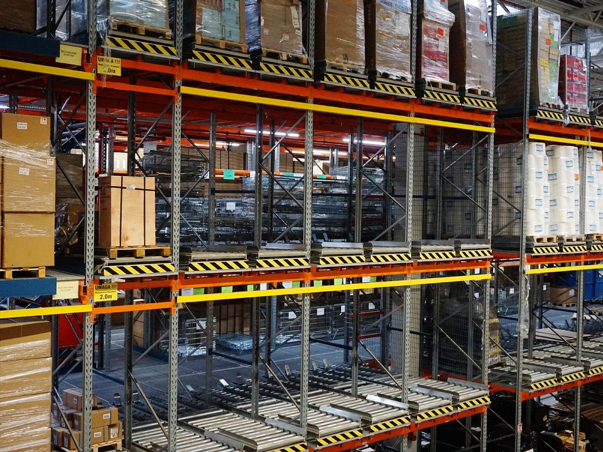 Entrepôts - Le stockage et le transport de palettes