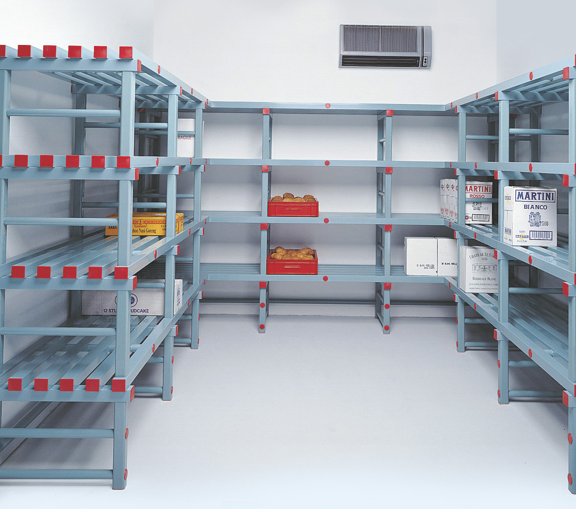 Rayonnages nettoyables - secteur alimentaire, médical