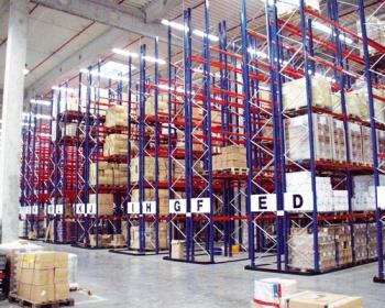 Le palettier - un rack pour le stockage de palettes