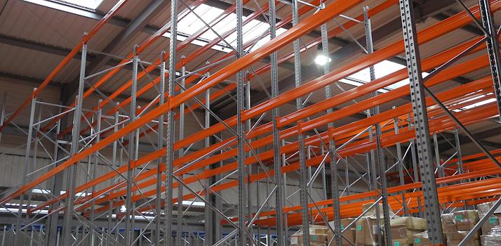 Normes INRS pour l'installation de racks à palettes