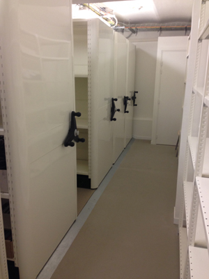 Manque de place dans l'entrepôt ? Optez pour des racks déplaçables !