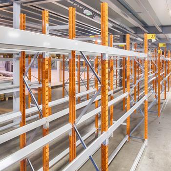 Installation de rack à palettes (palettiers) en région parisienne