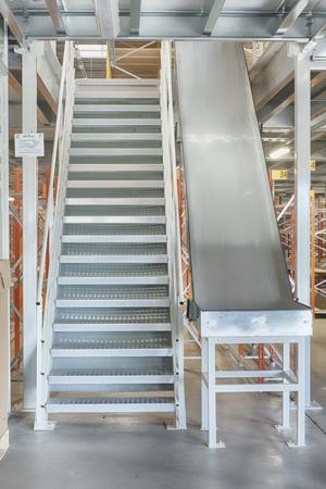 Equiper les mezzanines industrielles