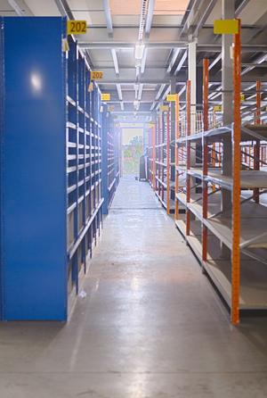 Etagère industrielle de stockage - Aménagement entrepôt