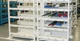 Cantilevers à tiroirs pour le stockage des tôles