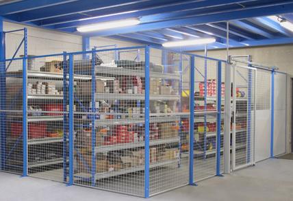 Créer une zone dans un entrepôt pour les produits dangereux