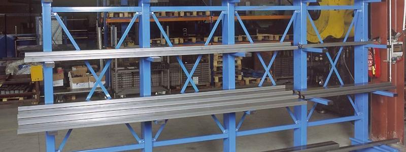 Cantilever, Solution de Stockages Spécialisées de Spade Equipements