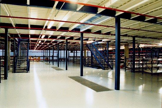 Rayonnages de Stockage - Aménagement Industriel