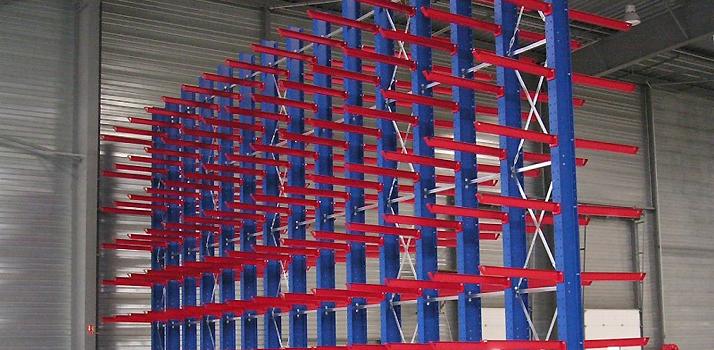 Avantage du rayonnage cantilever pour le stockage