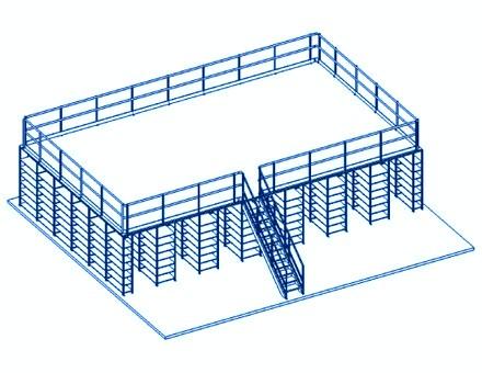 Mezzanines & Plateformes – Stockage Industriel