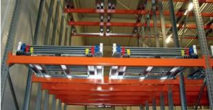 Stockage Dynamique à Tiroirs Push-Back - SPADE