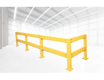 Rails de sécurité avec poteaux et lisses - SPADE