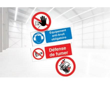 Panneaux de signalisation - Sécurité des entrepôts