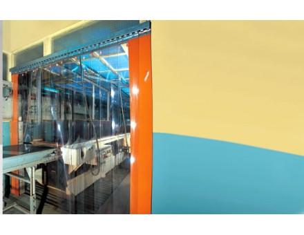 Portes à lanières – Portes souples industrielles – SPADE