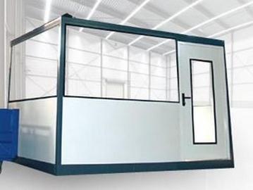 Cabines d'atelier d'intérieur palettisables - SPADE