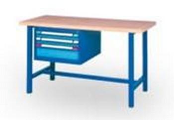 Etabli d'atelier trois tiroirs - Mobilier d'ateliers SPADE