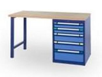 Mobilier d'ateliers - Etablis cinq tiroirs