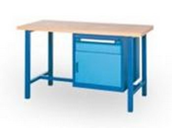 Mobilier d'Ateliers - Etabli un tiroir une porte