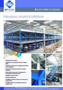 Mezzanines et plateformes de stockage